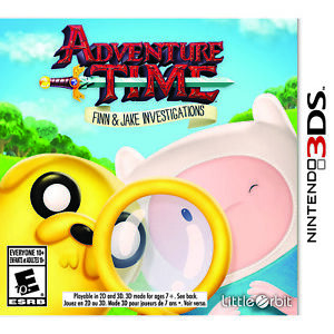 Adventure Time: Finn amp; Jake Investigations 3DS Brand New