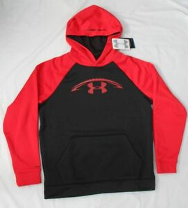 UNDER ARMOUR BOYS' FLEECE STORM  HOODIE YOUTH XLARGE