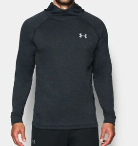UNDER ARMOUR MEN'S TECH TERRY POPOVER HOODIE CHARCOAL  NEW 100% AUTHENTIC