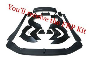 FRP LB LP Body Kit Fit For 14-16 BMW F82 M4 Lip Fender Diffuser Cap Wing Skirts