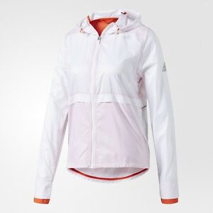 Adidas Women Clear Goals Jacket white