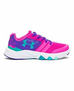 Under Armour 1273996-878-2.5 Girls Primed Running Shoes Shoe- Choose SZColor.