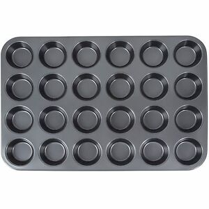 24 Cup Non-Stick 3.5 oz. Muffin  Cupcake Pan