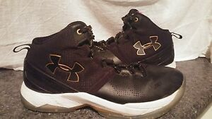 Under Armour Steph Curry 2 Boys Youth Size 5 LE Elite Black & Gold