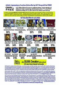 Donate $5000 & Own all Antique artifacts for FREE! 100% income tax deductible.