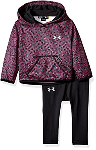 NEW Under Armour Baby Active Hoodie and Legging Set Stealth 3-6 Months
