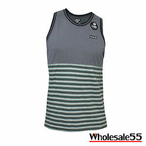 Hurley Dry-Fit Tower 5 Men's Tank Sizes S M L GrayGreen NWT