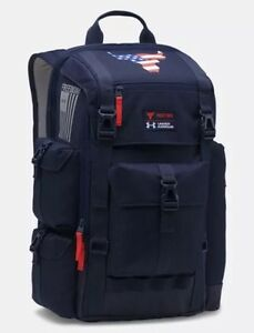 UA x PROJECT ROCK Under Armour EXCLUSIVE Freedom Regiment Backpack NWT