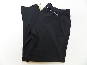 Mens Size 2XL Under Armour Storm Fitted Black Pants