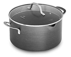 BRAND NEW-Calphalon Classic Nonstick Dutch Oven with Cover, 7 quart, Grey