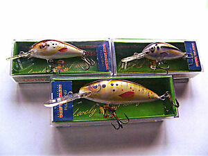 Ugly Duckling Fishing Lures mini floating crankbait  great FOR TROUT WALLEYE