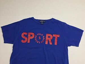 90s Vintage Ralph Lauren Polo Sport Spell Out Rare size L