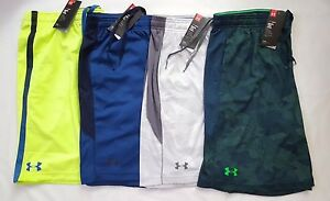 UNDER ARMOUR MEN'S HEAT GEAR LOOSE FIT SHORTS SIZE: SMLXLXXL