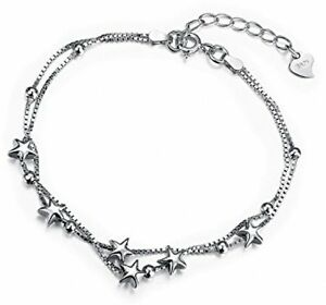 Star Bracelet For Women With 925 Sterling Silver