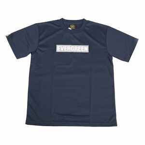 Evergreen T-Shirt Dry Fit Short Sleeve D-Type Size L Navy (5602) 4533625095602