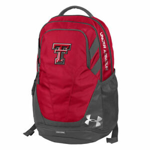 Under Armour Texas Tech Red Raiders Red Hustle 3.0 Performance Backpack