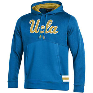 Under Armour UCLA Bruins Blue 2017 Sideline Storm Armour Performance Hoodie
