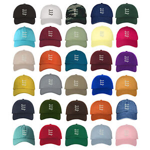 GOOD VIBES ONLY Dad Hat Embroidered Cursive Baseball Caps - Many Styles