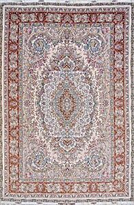 Intricate design extremely detailed masterpiece Novinfar Persian Rug 5x7