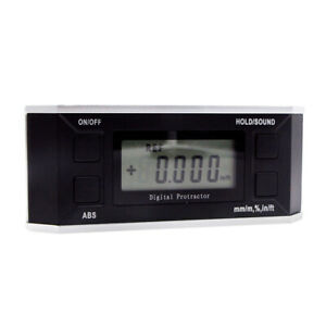 Digital Magnetic Angle Finder Cube Gauge Inclinometer Box Protractor 5340 90B $45.17