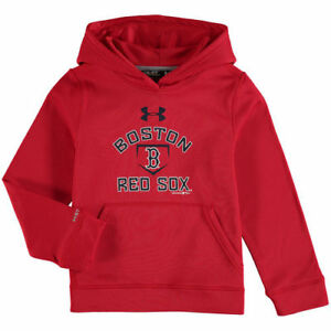 Under Armour Boston Red Sox Youth Red Armour Fleece MLB Hoodie - MLB