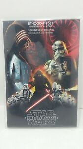 Disney Star Wars: The Force Awakens Limited Edition Lithograph Set