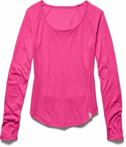 Under Armour 1245623 Womens UA Fly-By Long Sleeve M- Choose SZColor.