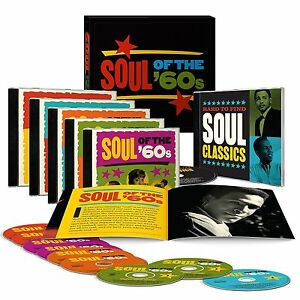 Soul of The 60's Time Life 9 CD box Set 151 Hit New Factory Seal US MadeShipper