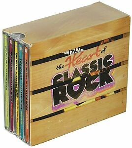 Heart of Classic Rock Box Set Time Life 10 CD 144 Hits USA MadeShipped