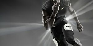 Nike Pro Combat Hyperstrong 3.0 Men's Compression Hard-Plate 34 Football PANTS
