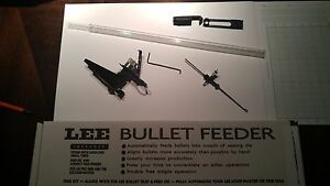 LEE  PRO 1000 & LOAD MASTER BULLET FEEDER KIT  9mm AND 45 ACP