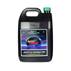 Dutch Master Advance Grow A 2 Part High Performance Nutrient 5L $39.99