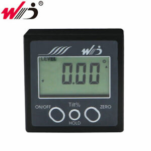 Digital Protractor Inclinometer Magnetic Angle Cube Bevel Box Angle Level Gauge $16.80