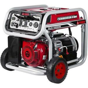 A iPower 12000 Watt Gasoline Portable Generator w Electric Start SUA12000E