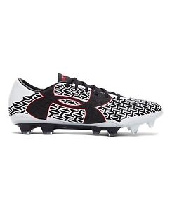 Under Armour 1264201-103 Mens UA Corespeed Force 2.0 FG Soccer CleatsWhite