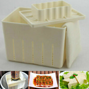 Tofu Maker Press Mold Kit With Cheese Cloth Soybean Curd Making For Kitchen Tool