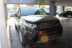 2016 Land Rover Discovery AWD 4dr SE AWD 4dr SE SUV Automatic Gasoline 2.0L 4 Cyl BLACK