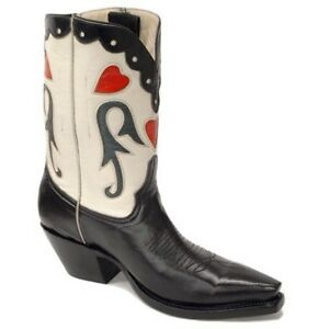 Pearl Pee Wee Hand Made Cowboy Boots Ladies Size 8