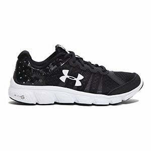 Under Armour 1266318-001 Boys Grade School Micro G Assert 6 Running Shoes
