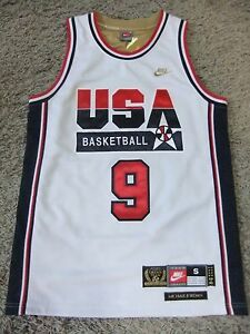 MICHAEL JORDAN USA DREAM TEAM 1992 OLYMPICS JERSEY  SPECIAL EDITION NIKE