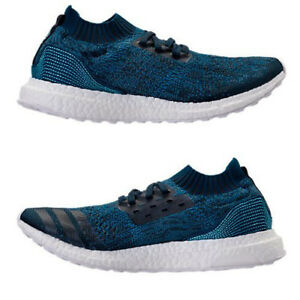 ADIDAS ULTRABOOST UNCAGED X PARLEY MENs RUNNING NIGHT NAVY - CORE BLUE AUTHENTIC