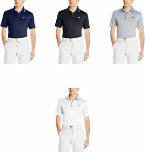 Under Armour Men's coldblack Address Polo 4 Colors