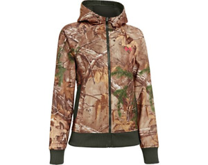 Under Armour Womens REALTREE AP 2X Camo Full-Zip Hoodie (Size XXL) NWT MSRP $85