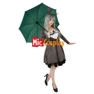 My Neighbor Totoro Cosplay Costume Dress+Headdress+Tail of Studio Ghibli