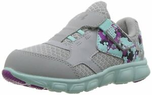 Under Armour Girls Infant Thrill AC Running Shoes Overcast GrayBlue Infinity