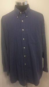 Brooks Brothers Sport Casual Button Down Dress Shirt Size XL