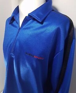 Vintage 90s Guess Sport Racing Lg Sleeve Pullover Shirt - RARE!  FREE SHIP!