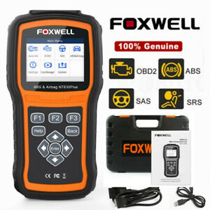 Foxwell NT630 Elite OBD2 Auto Code Reader ABS SAS Airbag Scanner Diagnostic Tool