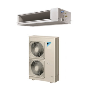 42000 Btu 16 Seer Daikin Single Zone Ducted Air Conditioning System