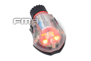 Helmet Light Survival Signal Safety Strobe Tactical Vest Airsoft Molle Outdoor